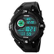 SKMEI Муж. Спортивные часы Армейские часы Модные часы электронные часы Наручные часы Японский ЦифровойLED Календарь Секундомер Защита от