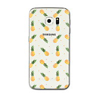 abordables Accesorios para Samsung-Funda Para Samsung Galaxy S8 Plus S8 Transparente Diseños Funda Trasera Fruta Suave TPU para S8 Plus S8 S7 edge S7 S6 edge plus S6 edge S6