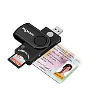 SIM-kort SD/SDHC/SDXC MicroSD/MicroSDHC/MicroSDXC/TF USB 2.0 USB Kortlæser