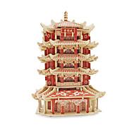 Χαμηλού Κόστους Παιχνίδια και Χόμπι-Παζλ 3D Παζλ Kit de Construit Παιχνίδια Διάσημο κτίριο Κινεζική αρχιτεκτονική Αρχιτεκτονική 3D Ξύλινος Δεν καθορίζεται Κομμάτια