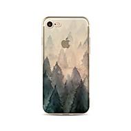 Hoesje voor iphone 7 plus 7 hoesje transparant patroon achterhoes hoesje zacht tpu voor apple iphone 6s plus 6 plus 6s 6 se 5s 5c 5 4s 4