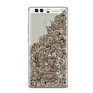 お買い得  携帯電話ケース-ケース 用途 Huawei社P9 / Huawei社P9ライト / Huawei社P8 クリア / パターン バックカバー クリア / フラワー ソフト TPU のために P10 Plus / P10 Lite / P10 / Mate 9 Pro / Huawei社P9プラス