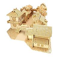 Zestaw DIY Zabawki 3D Puzzle Zabawki Znane budynki Dom Architektura 3D Dla obu płci Chłopcy Sztuk