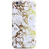 Недорогие Кейсы для iPhone 8 Plus-Назначение iPhone X iPhone 8 Чехлы панели С узором Задняя крышка Кейс для Мрамор Мягкий Термопластик для Apple iPhone X iPhone 8 Plus