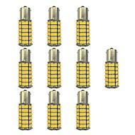 Недорогие Сигнальные огни для авто-10 шт. 1156 Автомобиль Лампы 4W SMD 3528 385lm Светодиодные лампы Лампа поворотного сигнала