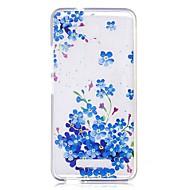 お買い得  携帯電話ケース-ケース 用途 AsusのZenFoneマックスZC550KL / Asus クリア / パターン バックカバー パンダ / フラワー ソフト TPU のために Asus Zenfone 3 Max ZC520TL