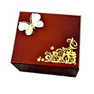 tanie Zabawki & hobby-Music Box Zabawka nakręcana Zabawki Motyl Drewniany 1 Sztuk Nie określony Urodziny Walentynki Prezent