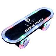 preiswerte Lautsprecher-1 Bluetooth 4.0 Tragbarer Lautsprecher Lautsprecher Weiß Schwarz Rose Rosa Dunkelrot Hellblau