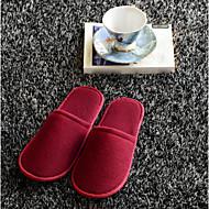 abordables Calcetines y Zapatillas de Estar por Casa-Pantuflas de Mujer Otros Confort Un Color