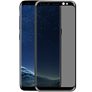 お買い得  -スクリーンプロテクター Samsung Galaxy のために S8 Plus 強化ガラス 1枚 フルボディプロテクター 3Dラウンドカットエッジ 覗き見防止 傷防止