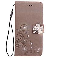 Χαμηλού Κόστους ΘΗΚΕΣ ΤΗΛΕΦΩΝΟΥ-Θήκη για Nokia Lumia 530 535 θήκη καρτών κατόχου καρτών κασέτα με βάση για αναδιπλούμενη θήκη σε πλήρη θήκη λουλούδι σκληρό δέρμα pu για