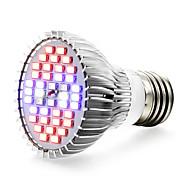 halpa -1kpl 650 lm E27 LED-kasvivalo 40 ledit SMD 5730 Punainen Sininen UV AC 85-265V