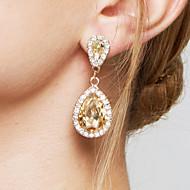 Women's Crystal Zircon Imitation Diamond Drop Earrings Earrings - Bridal Elegant Fashion Adorable Drop For Wedding Party Anniversary