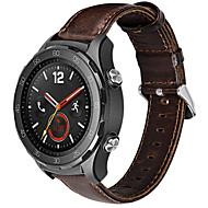 Недорогие Аксессуары для смарт-часов-Ремешок для часов для Huawei Watch 2 Huawei Классическая застежка Кожа Повязка на запястье
