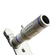 Hd Telefon Linsen Kit 18x Zoom Teleaufnahme 0.45x Weitwinkel 15x Super Makro Objektiv für iphones Samsung Smartphones Clip Kamera