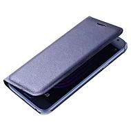 Недорогие Чехлы и кейсы для Galaxy A5(2017)-Кейс для Назначение SSamsung Galaxy A5(2017) A3(2017) Бумажник для карт Флип Чехол Сплошной цвет Твердый Кожа PU для A3 (2017) A5 (2017)