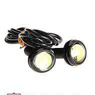 abordables Luces de Exterior para Coche-LORCOO 2pcs Motocicleta Bombillas 1W 1 las luces exteriores For Universal / Motores generales / motocicletas Todos los Años