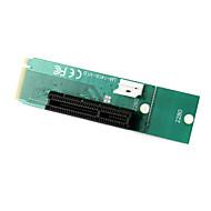 お買い得  -電源ケーブルとM.2のMキーオスアダプタコンバータカードをngffするのPCI Express PCI-Eの4倍の女性