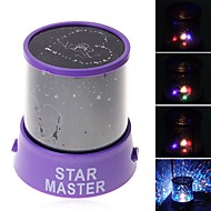 Starry Night Light LED Lighting Projector Lamp Toys ABS Romantic 1 Pieces Kids New Year Children's Day Gift