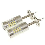 abordables -SENCART 2pcs H1 Automatique Ampoules électriques 36W SMD 3030 1500-1800lm Ampoules LED Feu Antibrouillard
