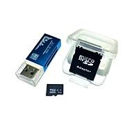 Недорогие Карты памяти-Карта памяти microsdhc с памятью 4gb со всеми в одном устройстве для чтения карт памяти и sdhc sd-адаптером