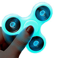 お買い得  おもちゃ & ホビーアクセサリー-ハンドスピナー こま おもちゃ おもちゃ ストレスや不安の救済 フォーカス玩具 オフィスデスクのおもちゃ ADD、ADHD、不安、自閉症を和らげる 蓄光 蛍光灯 トライスピナー プラスチック ABS メタル 発光性の 小品 子供用 成人 ギフト