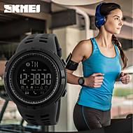 Недорогие Фирменные часы-SKMEI Муж. Спортивные часы / Смарт Часы / электронные часы Японский Календарь / Защита от влаги / Пульт управления PU Группа На каждый день Черный / Педометры / Фосфоресцирующий / Два года