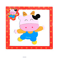 cheap Toys & Hobbies-Wooden Puzzles Pegged Puzzles Toys Bull Magnetic Unisex Pieces
