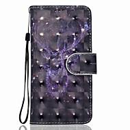 Кейс для Назначение SSamsung Galaxy J7 (2017) J5 (2017) Кошелек Бумажник для карт со стендом Флип С узором Магнитный Чехол Животное