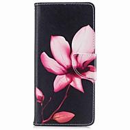 чехол для samsung galaxy note 8 держатель цветочной карты pu wallet кожаный мешок с рисунком
