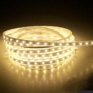 4m 220v higt luminos a condus benzi de lumină flexibile 5050 240smd trei cristal lumini de gradina lumina bar rezistent la apă, cu priza