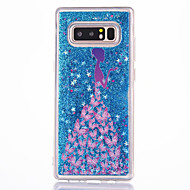 Case For Samsung Galaxy Note 8 Flowing Liquid Pattern Back Cover Sexy Lady Hard PC for Note 8 Note 5 Note 4 Note 3