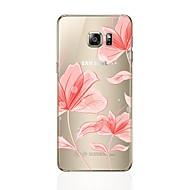 voor case cover transparante patroon achterkant hoesje bloem zachte tpu voor samsung s8 plus s8 s7 rand s7 s6 rand plus s6 rand s6 s5 s4