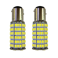 Недорогие Сигнальные огни для авто-4w 1157 bay15s py21w 120smd2835 указатель поворота для автомобиля белый dc12v 2шт