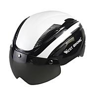 preiswerte -West biking Helm Fahrradhelm Skateboarden Helm Skihelm BMX Helm CCC Radsport 4 Öffnungen Winddicht Langlebig Gute Qualität Einstellbare