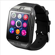 billiga Digitala klockor-hhy q18 smart klocka med pekskärm kamera tf kort för android ios