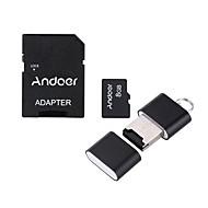 Недорогие Карты памяти-andoer 8gb класс 10 карта памяти tf карта адаптер кард-ридер usb флешка для камеры камера камеры сотовый телефон стол ПК gps