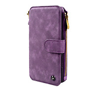 Case For Samsung Galaxy Note 8 Wallet Card Holder Flip Magnetic Full Body Solid Color Hard PU Leather for Note 8