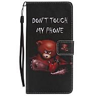 voordelige Galaxy Note-serie hoesjes / covers-hoesje Voor Samsung Galaxy Note 8 Portemonnee Kaarthouder met standaard Flip Patroon Magnetisch Volledige behuizing dier Hard PU-leer voor