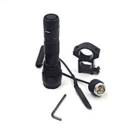 cheap Flashlights, Lanterns & Lights-ANOWL LED Flashlights / Torch LED 1200 lm 1 Mode XM-L2 U2 with Remote Controller Remote Control Easy Carrying Hunting