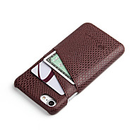 abordables Súperoferta de Precios Locos-Funda Para iPhone 7 / iPhone 7 Plus / Apple iPhone 7 / iPhone 7 Plus Soporte de Coche Funda Trasera Un Color Dura ordenador personal para iPhone 7 Plus / iPhone 7