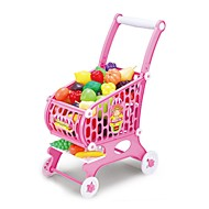 preiswerte Spielzeuge & Spiele-Spielzeug-Autos Lebensmittel einkaufen Tue so als ob du spielst Neuheit Gemüse Frucht Simulation Große Größe Kunststoff Kinder Unisex Jungen Mädchen Spielzeuge Geschenk