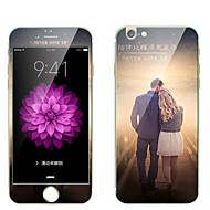 Закаленное стекло Защитная плёнка для экрана для Apple iPhone 6s Plus iPhone 6 Plus Защитная пленка для экрана и задней панели Защитная