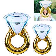 abordables Décoration de Fête-2pcs / set big lover mariage mariage ballon ballon de diamant ballons de valentine jouets de fête