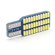 10x t10 canbus w5w led 3014 33smd araba ledli gösterge kubbe lamba paneli ampulleri