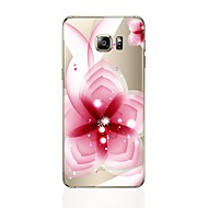 Недорогие Чехлы и кейсы для Galaxy S6 Edge Plus-Кейс для Назначение SSamsung Galaxy S8 Plus S8 Прозрачный С узором Кейс на заднюю панель Цветы Мягкий ТПУ для S8 Plus S8 S7 edge S7 S6