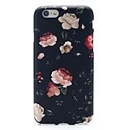 Käyttötarkoitus iPhone X iPhone 8 iPhone 7 iPhone 7 Plus kotelot kuoret Ultraohut Kuvio Takakuori Etui Kukka Pehmeä TPU varten Apple
