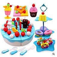 お買い得  おもちゃ & ホビーアクセサリー-医療キット 食べ物おもちゃ ちびっ子変装お遊び 野菜 フルーツ ケーキ リラックスフィット 無臭 キット プラスチック 子供用 男女兼用 男の子 女の子 おもちゃ ギフト 1 pcs
