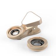 lente do telefone celular lente grande angular lente macro liga de alumínio 10x e acima 0,03 lente com luz led
