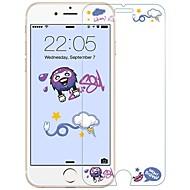 Недорогие Защитные плёнки для экранов iPhone 8-Защитная плёнка для экрана для Apple iPhone 8 Закаленное стекло 1 ед. Защитная пленка для экрана HD / Взрывозащищенный / Узор